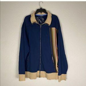 Nike Blue Ribbon Sports Jacket Full Zipper XXL